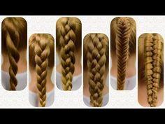 Very Easy to Do Hair Braids – Lavish Braids Tight Braids, Small Braids, Braids For Kids, Braided Hairstyles For Wedding, Braided Hairstyles Tutorials, Diy Hairstyles, Braids Tutorial Easy, Braiding Your Own Hair, Different Braids