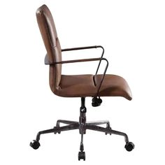 Acme Furniture Indra Adjustable Executive Office Chair | Hayneedle Low Pile Carpet, Global Home, Executive Office Chairs, Acme Furniture, Leather Chairs, Side Chairs, Home Furnishings, Upholstery, Leather Dining Chairs