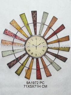 find this pin and more on shabby chic clocks image detail for wall decorative - Decorative Wall Clocks
