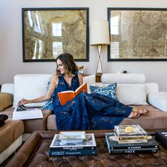 Louise Roe - photographed at home by Monica Wang for The Everygirl - Front Roe fashion and lifestyle blog 0