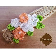 Diadema primaveral #crochet #bb