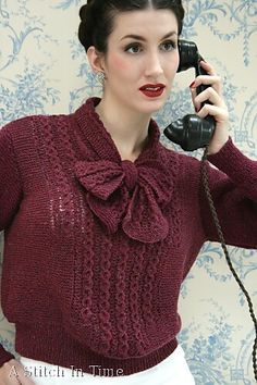 Ravelry: Accessory for Your Spring Suit pattern by Susan Crawford