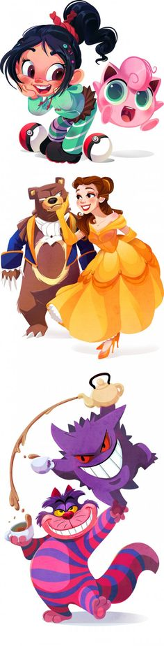 If Disney Characters Were Pokemon Trainers