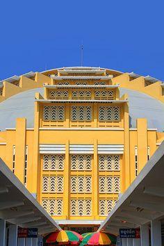Art Deco Masterpiece | Central Market ~| Phnom Penh | Cambodia