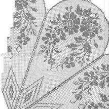 Only Crochet Patterns Part 2 - Beautiful Crochet Patterns and Knitting Patterns Easy Crochet Stitches, Crochet Rug Patterns, Doily Patterns, Thread Crochet, Filet Crochet, Crochet Motif, Crochet Doilies, Crochet Lace, Knitting Patterns