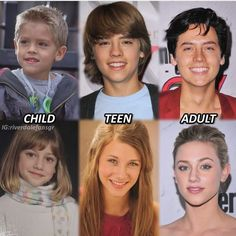 Evolution og Lili Reinhart and Cole Sprouse