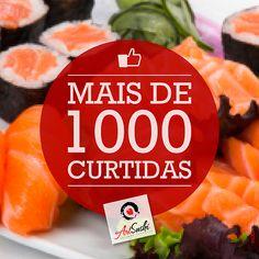 Post Art Sushi + de 1000 curtidas