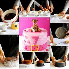 TartaFantasía: Bizcocho especial para tartas fondant