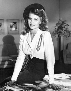 """Rita Hayworth in """"Cover Girl"""""""