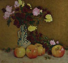 STEFAN LUCHIAN (1868-1916) Still Life, Paintings, Landscape, Flowers, Czech Republic, Slovenia, Impressionism, Hungary, Poland