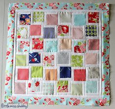 Scattered Squares Pillow « Moda Bake Shop