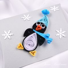 Image result for quilling penguin