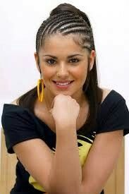 Braided Hairstyles For Girls Pictures Cool Braid Hairstyles, African Hairstyles, Girl Hairstyles, Girl Pictures, Black Hair, Braids, American, Hair Styles, Beauty