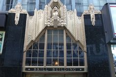 1619 Broadway, Theater District, Manhattan    Since its construction in 1930-31, the 11-story Brill Building has been synonymous with American music – from the last days of Tin Pan Alley to the emergence of rock and roll. Occupying the northwest corner