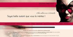 Découvrez le site que l'on a créé pour notre client Elena Institut !