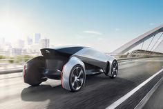 the jaguar future-type is a fully autonomous concept that imagines mobility in a world where people can summon a fully-charged electric car on-demand.