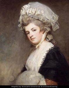 Mrs Mary Robinson Perdita 1758-1800 c.1781 - George Romney