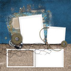 free scrapbook quick pages | ... digital scraps: It's a guy thing scrapbook quick page freebies