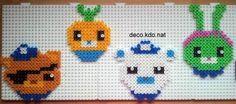 The Octonauts hama perler beads by Deco.Kdo.Nat