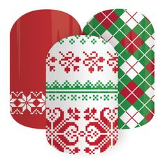Jamberry Nail Wraps Christmas Socks from Bev's Jammin' Nails www.bkimball.jamberrynails.net   #bevsjamminnails  #jamberry #nailart #nailwrap #nails #style #lacquer #polish #Christmas #beauty #winter #sweater www.bkimball.jamberrynails.net