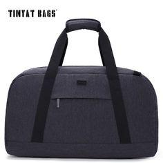 76261d391bbc TINYAT New Male Men Travelling bag 40L Travel Luggage bag Nylon Large  Capacity Handbags Casual bag