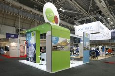 Vision Exhibition stand for Suez Degremont. Exhibition Stand Design, Gas Station, Display, Building, Thoughts, Floor Space, Exhibition Stall Design, Billboard, Buildings