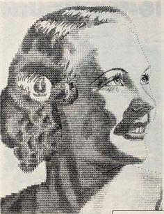 Typewriter Portraiture, the Strange Story of 1920s ASCII Art | Boing Boing