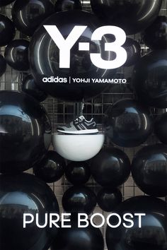 Yamamoto for Adidas Visual Merchandising, Adidas, Retail Windows, Store Windows, 3d Things, Commercial, Displays, Shoe Display, Immersive Experience