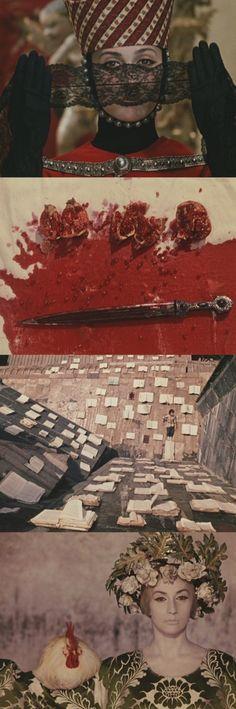Sayat Nova (The Colour of Pomegranates), 1968 (dir. Sergei Parajanov)