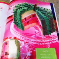 Watermelon Cake Sandra Lee