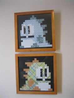 Bubble Bobble! I wonder if I could do this as a cross stitch?