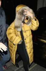 RIHANNA Leaves Libertine Nightclub in London