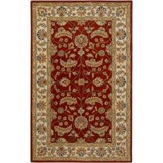 Artistic Weavers John Red 8 ft. x 10 ft. Oval Area Rug - JHN-1022 at The Home Depot