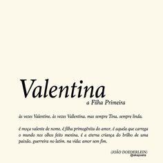 Fiz esse pra uma Valentina querida que está ainda nos primeiros anos da vida ✨🌻 Marca sua Valentina aqui!