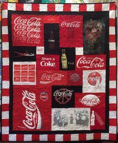 Coca Cola T-shirt Quilt