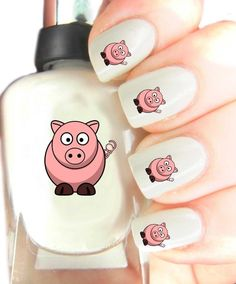 High Quality Nail Art For Every Occasion! With Top Coat Varnish Pig ** Be sure to check out this awesome product.