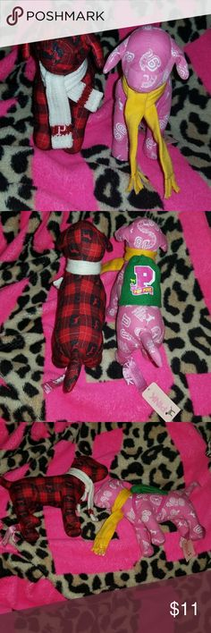 Vs pink dogs One nwt, other does not have tag. PINK Victoria's Secret Other