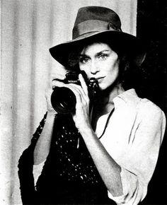 Gabbie Marie: My style icon. Lauren Hutton .