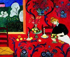 Henri Matisse, Red Room (Harmony in Red) 1908 on ArtStack #henri-matisse #art
