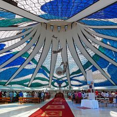 Catedral de Brasília - Catedral - Religião - Fé - Oscar Niemeyer - Brasília - Brasil - Brazil