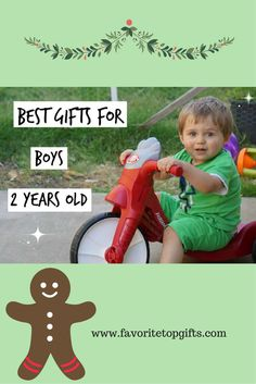 Top toys for 2 year old boys!
