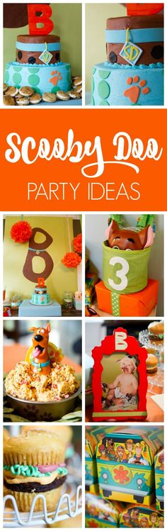 Scooby Doo Birthday Party featured on Pretty My Party