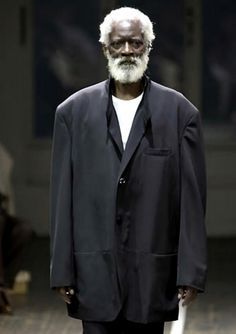 Yohji Yamamoto pour homme spring summer 2001