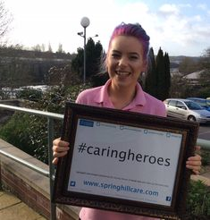 Riversway's latest Caring Heroes   - Springhill Care Group Lancashire