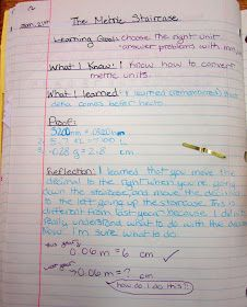 Runde's Room: Math Journal Sundays - Metric Conversions