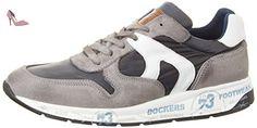 Dockers by Gerli 40br001-207206, Sneakers Basses Homme, Gris (Grau/Blau 206), 45 EU - Chaussures dockers by gerli (*Partner-Link)