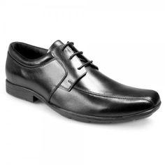 Pod Kent Boys Smart Formal School Shoes Lace Ups Leather Heel Sizes 34 35 36