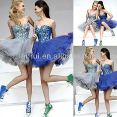 #fitted homecoming dresses, #beaded sweetheart neckline homecoming dress, #short puffy homecoming dress