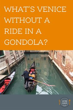 Is it really a must to go for a gondola ride in Venice? It is on many people's bucket list, and if it's on yours, here are some tips and information to enjoy the ride. In other words: Your Gondola Guide to Venice! | #wanderlust #travel #eatingeurope #venice #italy #bucketlist