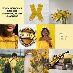 For all my yellow and hufflepuff lovers! Made these!